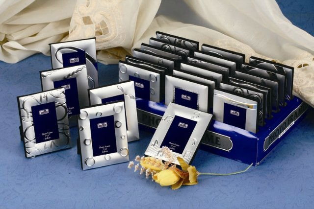 Assorted Designs Silver plated Metal Mini Photo Frame