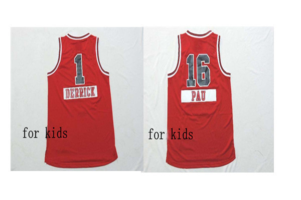#16 Pau Gasol kids  Jersey Cheap Basketball Jersey Authentic Shirt Stitched Logo Jerseys in stock
