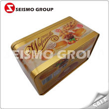 suitcase tin box good quality food packaging box for tea