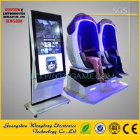 Robot Cabin Double Seat 9dvr, VR Simulator New Entertainment 9d vr 9d Cinema, Virtual Reality Walker Christams Indoor Amusement