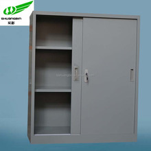 Office filing cabinet small metal cabinet sliding door locker