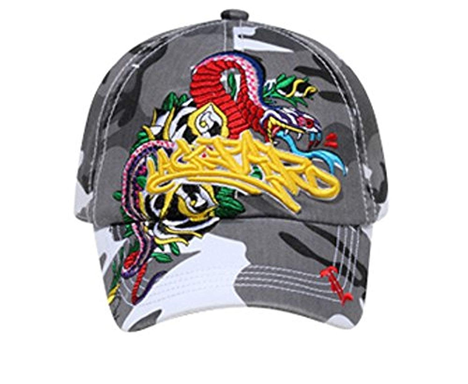 Hats & Caps Shop 3D Lackpard Embroidered Design Caps - By TheTargetBuys