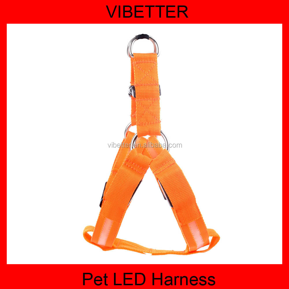 High quality special chargeable LED dog Collar/leash/Harness