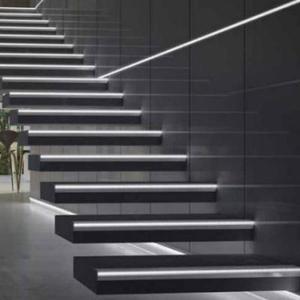 2019 New Series Led Baseboard Lighting Aluminum Angle Nosing Profile