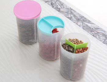 Separator Design Kitchen Food Storage Box Sealed Crisper