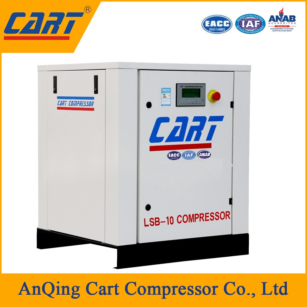 18.5kw 25hp belt driven electrical screw air compressor for pneumatic valve