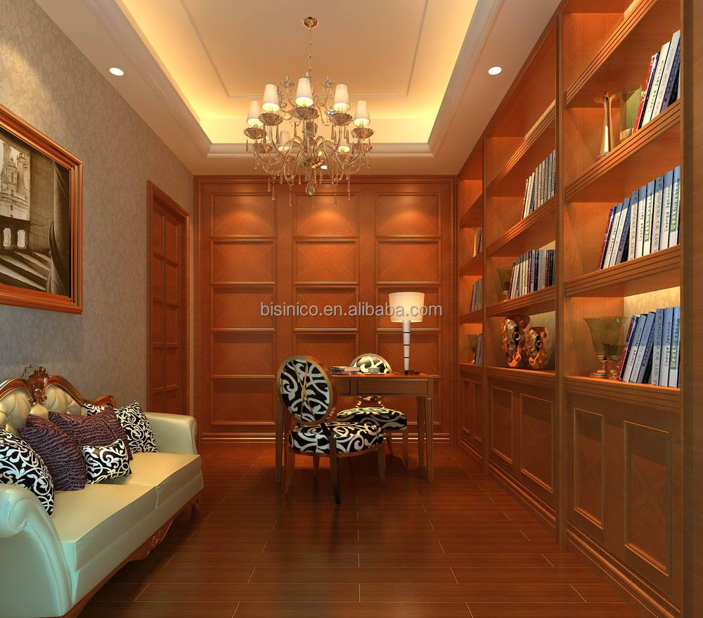 Bisini Luxury 3D Rendering For Home Office With Classic