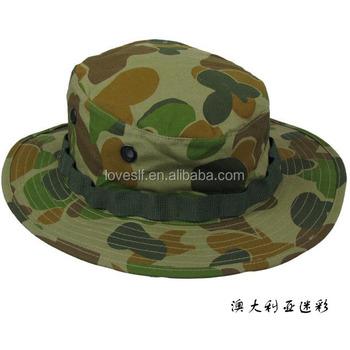 Boonie Pesca Caza Al Aire Libre Cap Militar De Camuflaje Sombrero De ... 52aa519db0b