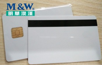 J2A040 Chip JAVA JCOP CARD with HiCo 2 Track Mag Stripe JCOP21-36k