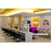 Newest nail salon shop interior design with custom nail shop various furniture and logo