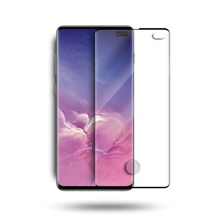 ขายส่ง 2019 มาใหม่ 3D โค้งเต็มครอบคลุมกระจกกันรอยหน้าจอสำหรับ S Amsung G Alaxy S10 บวก
