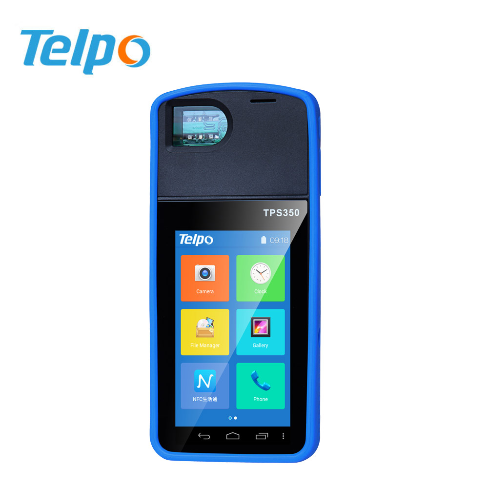 Telpo TPS350 wireless Biometrics Fingerprint scanner ID recognition POS terminal with nfc reader