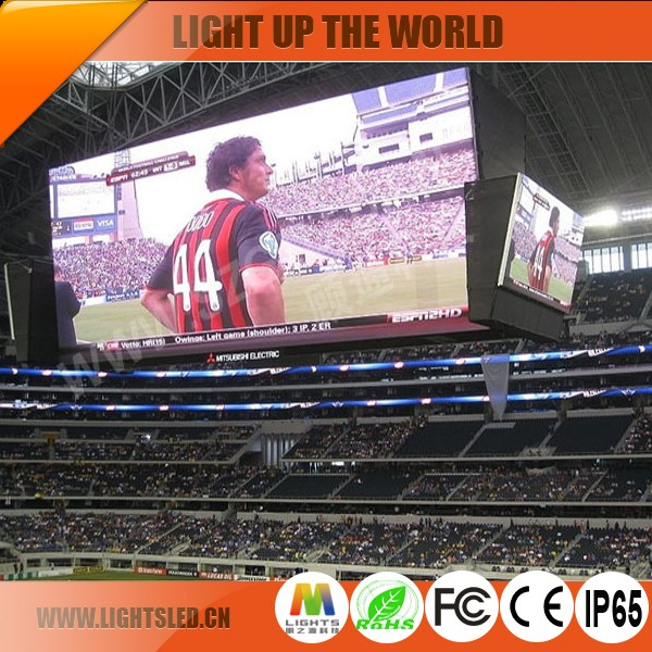 high quality star sports live led display or screen for sale