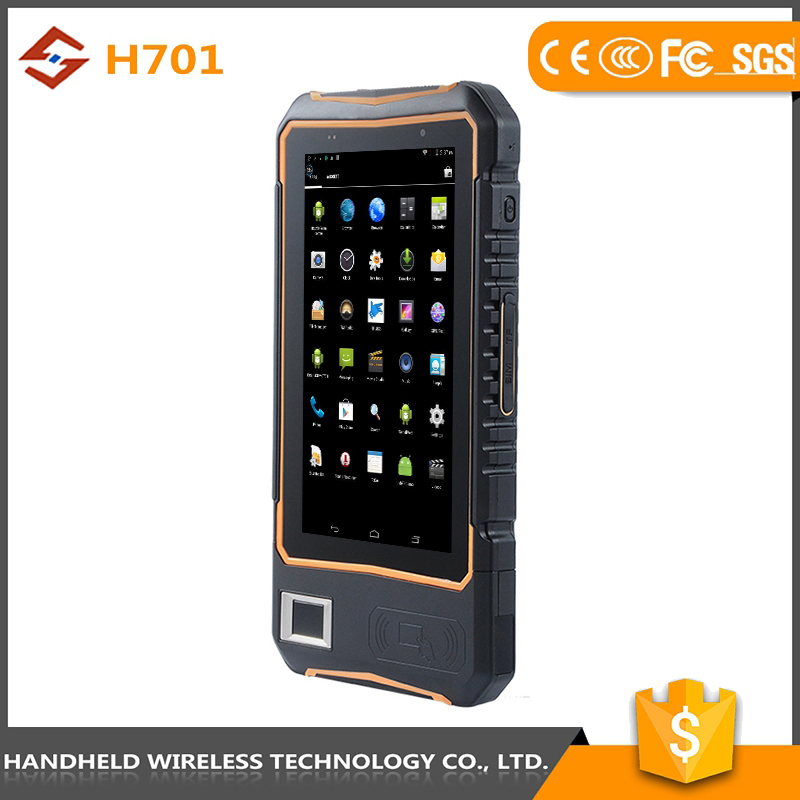 Latest new model 7intch rugged handheld wireless ip 65 android 4.4.2 rfid reader desktop usb uhf rfid reader
