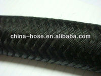 Single Wire Braid Textile Covered R5 Hydraulic Hose/single wire braid reinforced hydraulic hose