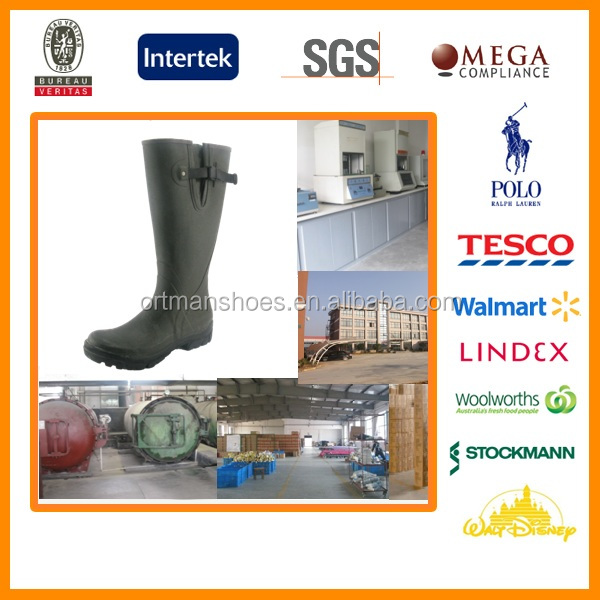 Men Gender and Rubber Outsole Material rubber boots wedge heel