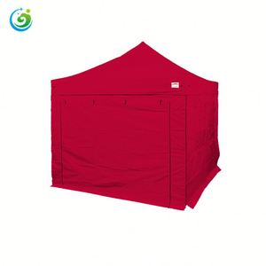 Outdoor clear plastic folding trade show tent