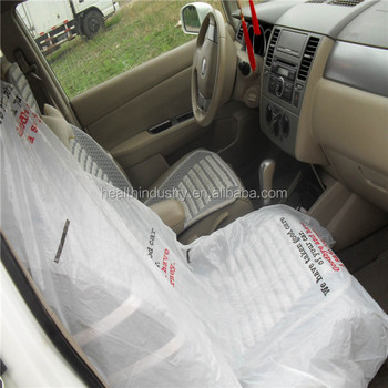 1400mmx800mm Disposable Clear Seat Cover