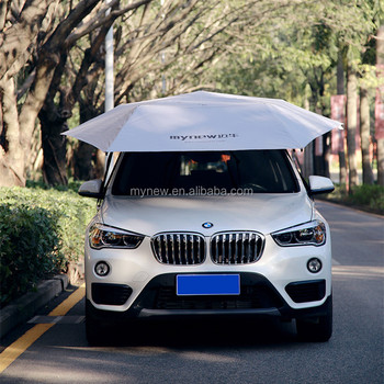 New Style Automatic Portable Car Umbrella Removable Car Tent