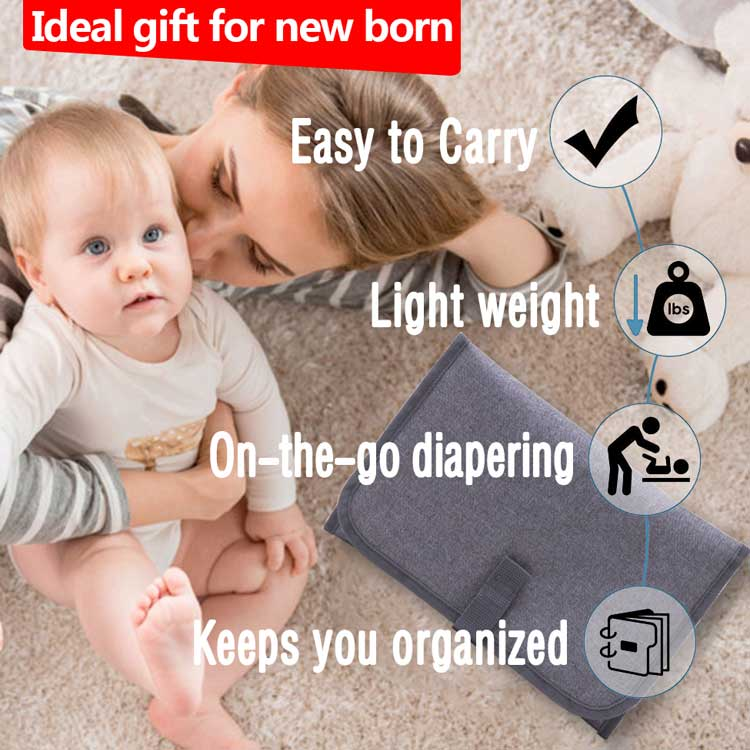 Random shipment baby diaper changing mat infant changing pad portable