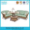 All Weather Living Room Rattan Sectional Sleeper Sofa Cheap Single Sofa Bed Furniture