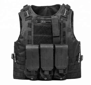 Heavy Duty Outdoor Camo Military Combat Gear Airsoft Waterproof Bulletproof Tactical Vest Military