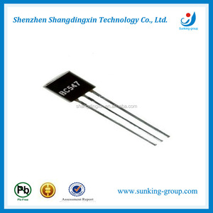 TO-92 Epitaxial Silicon Transistors BC548