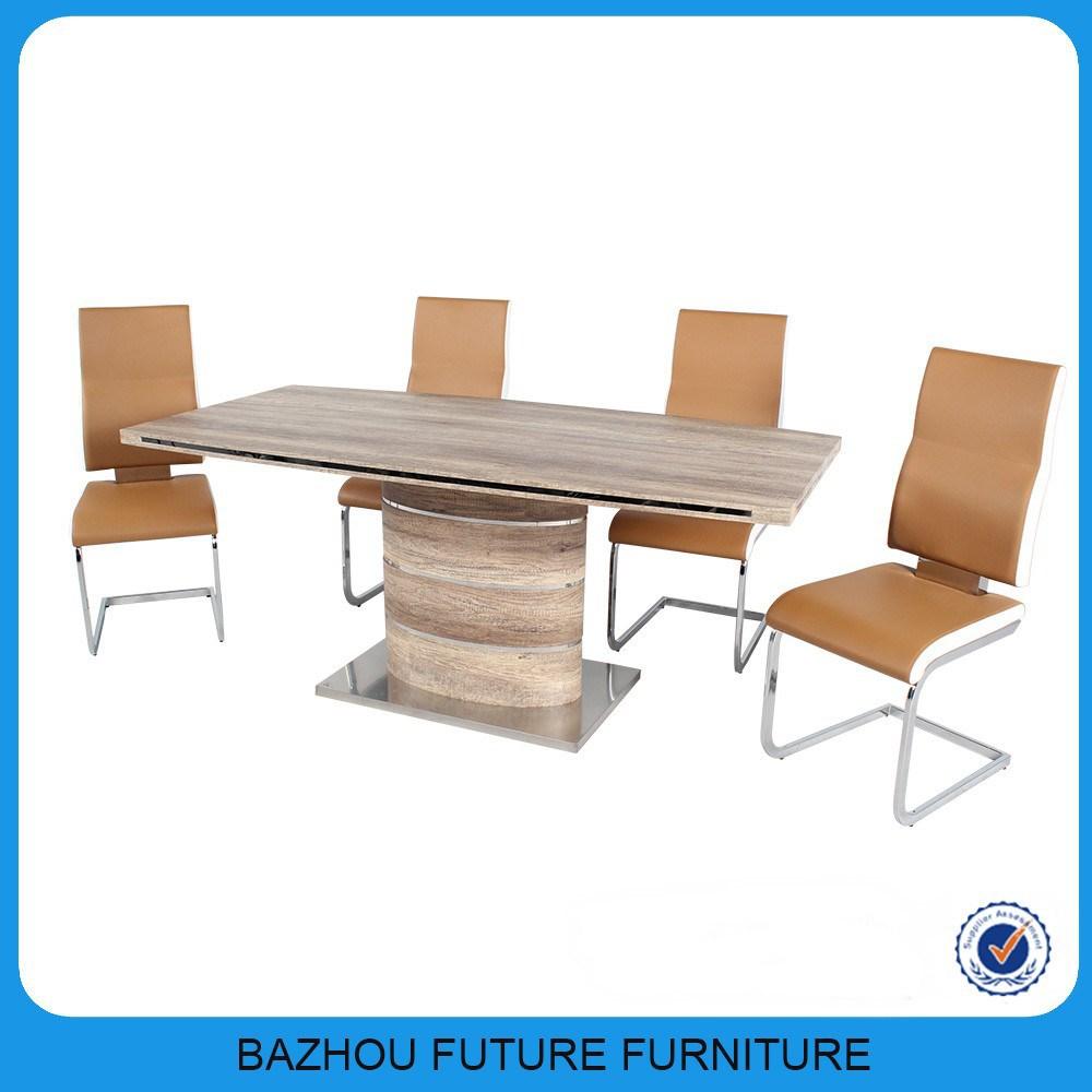 modern design home furniture mdf wood rustic dining table. Black Bedroom Furniture Sets. Home Design Ideas