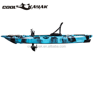 2017 hot sell 10ft foot pedal kayak with propeller systems