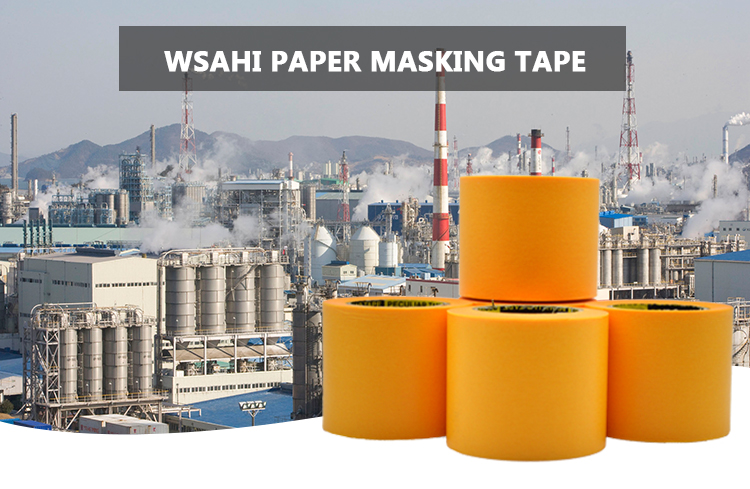 כתום צבע UV Washi נייר מיסוך קלטת עבור ציור יפני Washi Klebeband סיטונאי