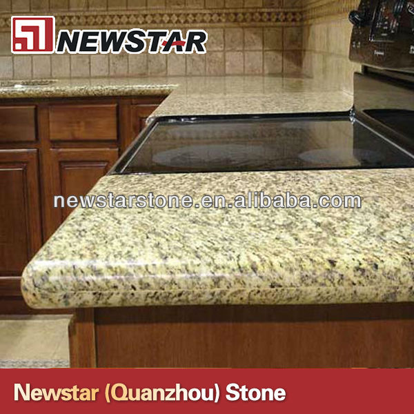 Brazil giallo granite countertops made in China