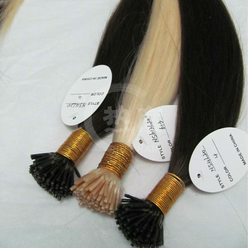 top selling i tip stick human hair wholesale 0.5g/0.7g/0.9g/1.0g per strand accept custom order