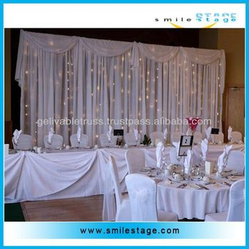Wedding Backdrop Stand For Fashion Exhibit Booth Design