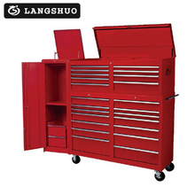 High quality wooden tool chest of drawer tool cabinet wholesale