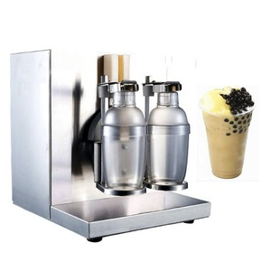 Electric milk shaking machine for bubble tea shaker
