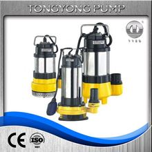 with float switch well pump mechanical seal trash handling submerged motor sewage pumps