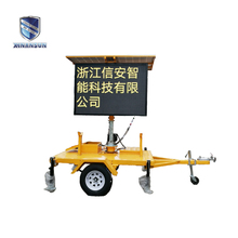 2017 new Portable Road traffic Speed Limit Sign Vms Trailer