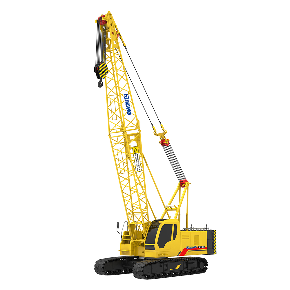 XCMG Hoisting Construction Machinery 55 Ton Hydraulic Crawler Crane XGC55
