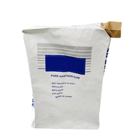 Kraft paper valve sack bags laminated pp woven for cement packing