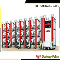 China good quality gates design Stainless steel automatic sliding gates low price