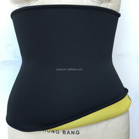 2017 new slimming neoprene trimmer belt body shaper waist trainer shaping belt