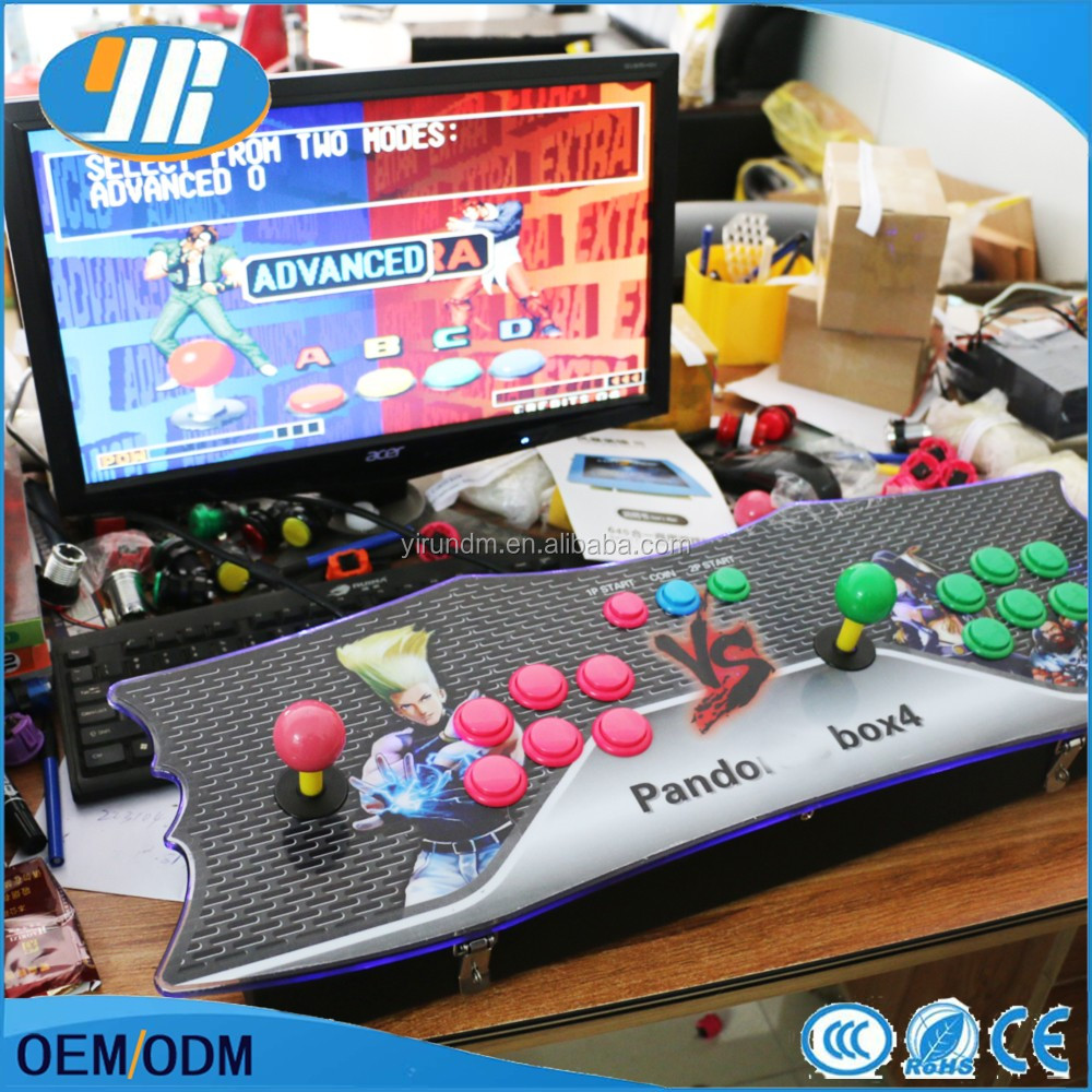 Hdmi Pandora Game 645 In 1 Multi Games Console Arcade Joystick ...