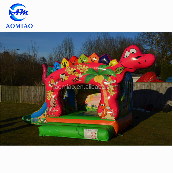 Kids indoor inflatable jumping castle combo slide, cheap inflatable bouncer for sale