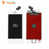 Hot Factory Supply mobile phone lcds for Iphone 5G LCD assembly Touch Screen Digitizer