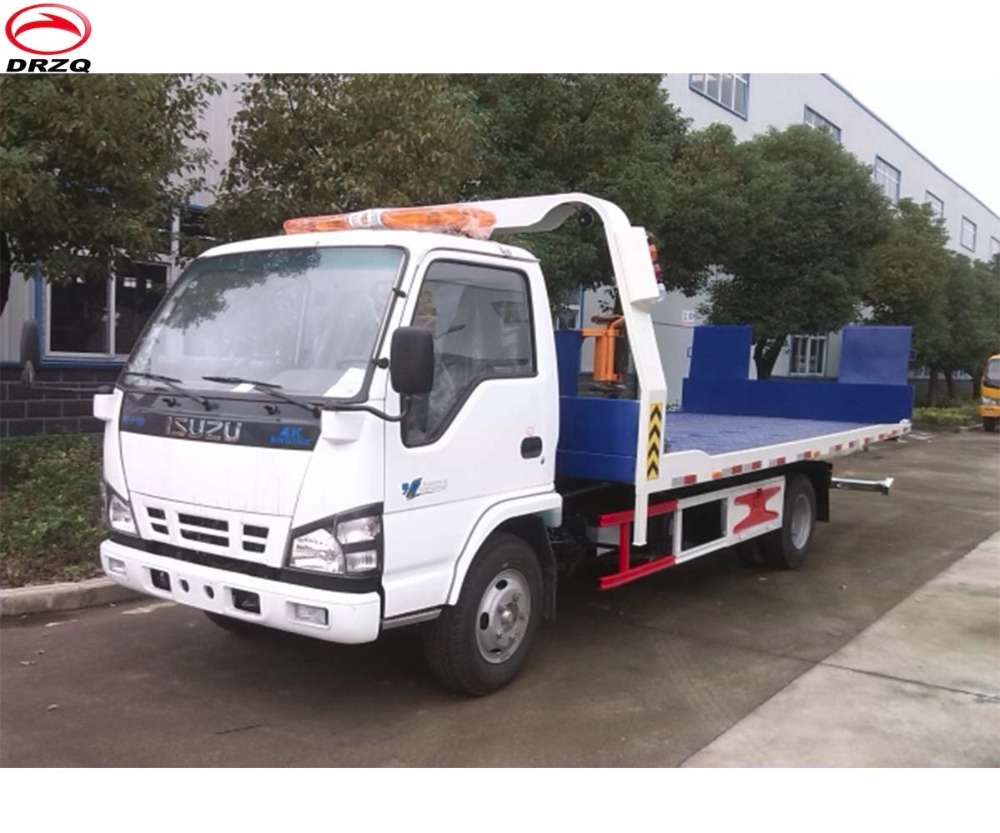 Japanese Chassis Brand New 3ton 4*2 Flatbed Tow Truck