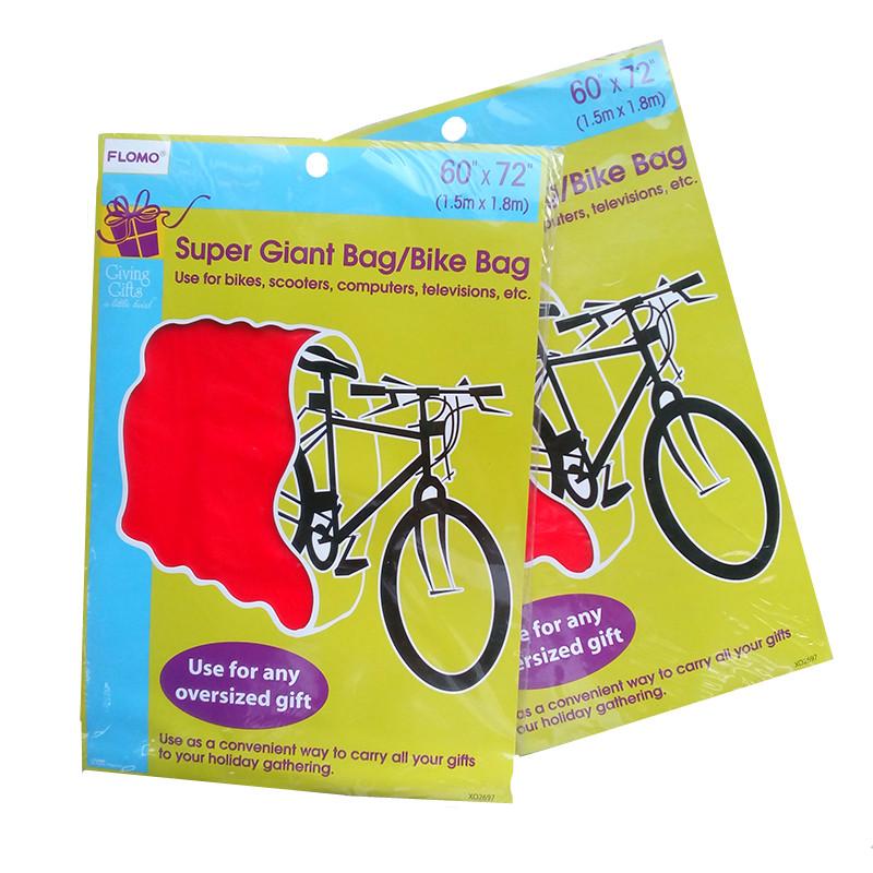 Giant Gift Bag Bike Bag For Christmas Giant Gift Bag Bike Bag For