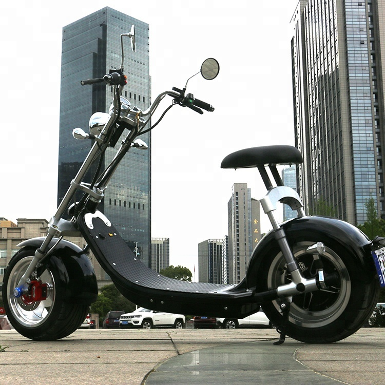 Emak/COC/EEC Cheap Electric Scooter For Adults Big Wheel Rueda Grande Citycoco