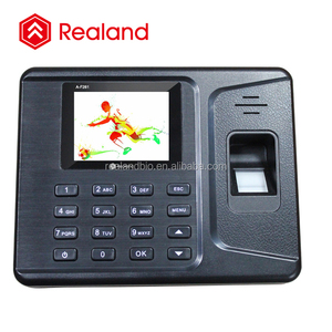 Rfid card fingerprint biometrics employee attendance scheduling hr management (Realand A-F261 )