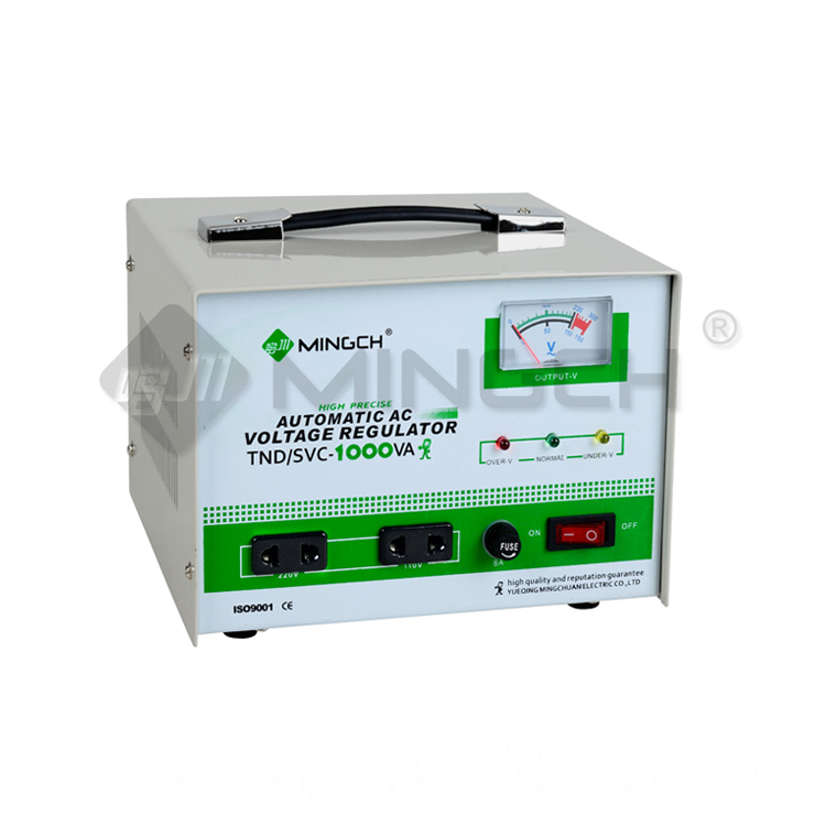 MINGCH 240V Svc 1000Va Automatic Voltage Regulator Stabilizer