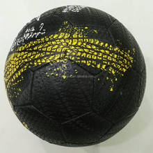abrasion resistant street tire soccer balls with machine stitched technology
